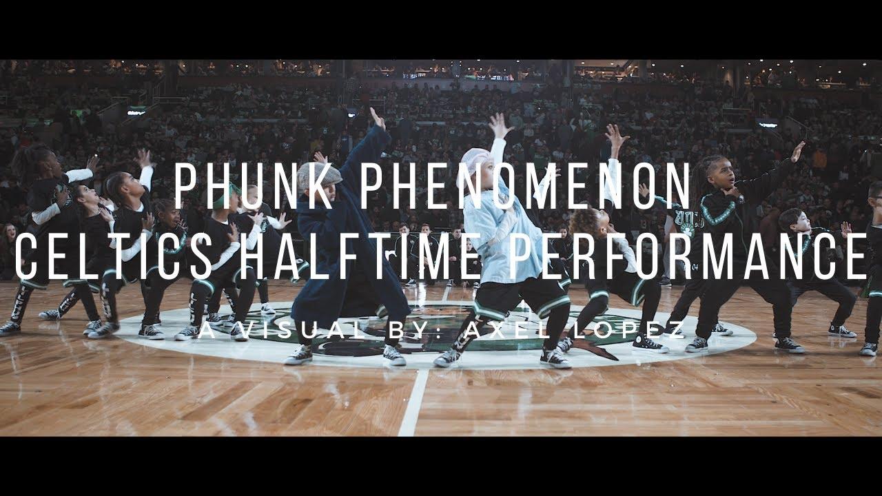Phunk Phenomenon Boston Celtics Halftime Performance | Highlight Video
