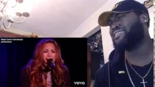 Demi Lovato   Skyscraper An Intimate Performance 01- REACTION