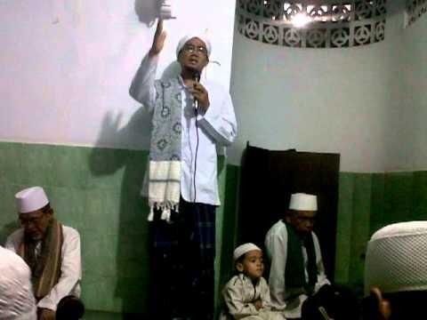 Ceramah Al Habib Alwi bin Utsman bin yahya di musholla Al-Husna