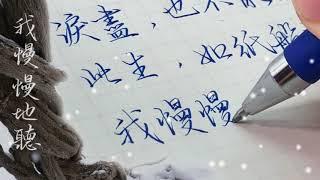 【五瓶Wuping】 用一支筆唱  雪落下的聲音  [延禧攻略] - -全寫不漏字