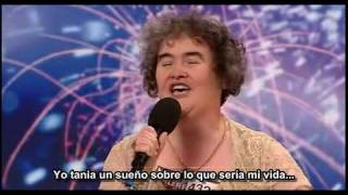 Susan Boyle Subtitulado en español (Les Miserables - Episode 1 - Britains Got Talent)