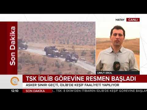 TSK İdlib'de görevine başladı