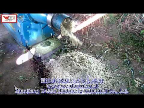 Pennisetum Purpureum Juice Dewatering Machine Juice Extractor