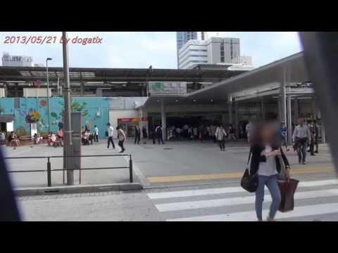 Japan Trip 2013 Tokyo Nakano Station Sun Mall Shopping street to Nakano Broadway 737
