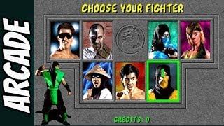Mortal Kombat 1 Arcade - Gameplay com Reptile - Playthrough