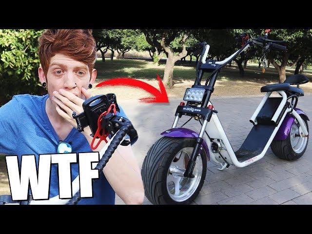 Me compré un Scooter DE LUJO!