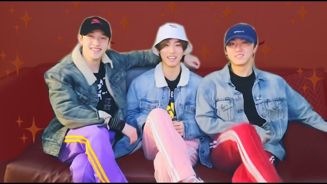 three men in colorful pants (10% 3RACHA, 90% laughter)