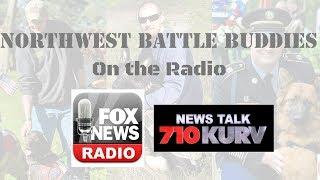 ⭐️Northwest Battle Buddies discussed LIVE on Fox News Radio (4/20/18)