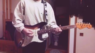 最近はまっているSuchmosのアルバムTHE BAYから一曲、Armstrongを弾いて...