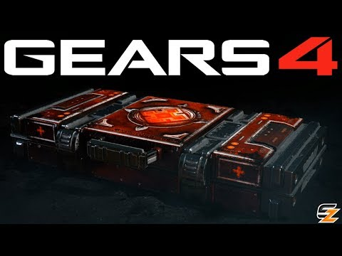 Gears of War 4 Gear Packs - Opening 20 QUEEN MYRRAH EMERGENCE PACKS!
