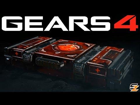Gears of War 4 Gear Packs - Opening 20 QUEEN MYRRAH EMERGENCE PACKS!