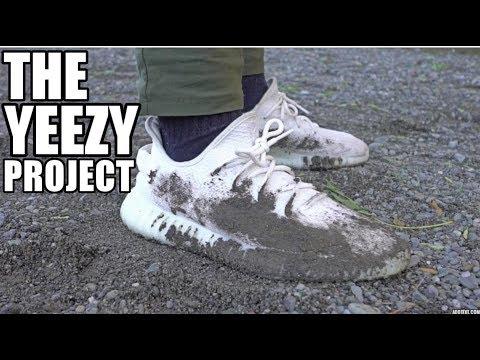WHITE YEEZY BOOST RESTORATION!!