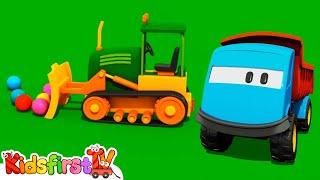 Tutitu Cartoon Style - Kid's 3d Construction Cartoons For Children 20: Leo's Bulldozer