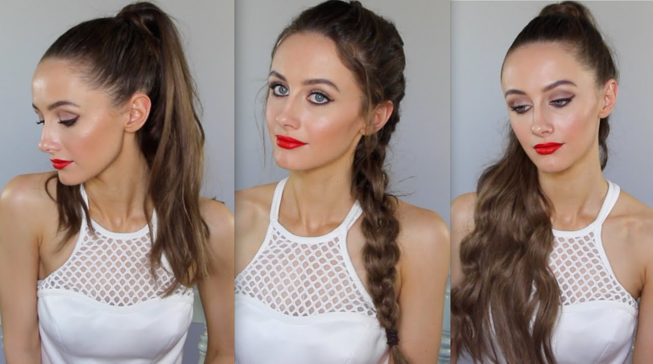 3 hairstyles hair extensions