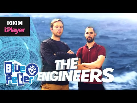 Blue Peter - Meet the Wave Runner Engineers - CBBC