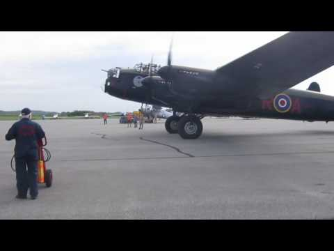 Lancaster at Vintage Wings of Canada