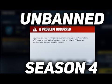 How to get unbanned on Fortnite (System/Permanent Ban) - YouTube