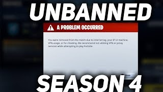 How to get unbanned on Fortnite (System/Permanent Ban)