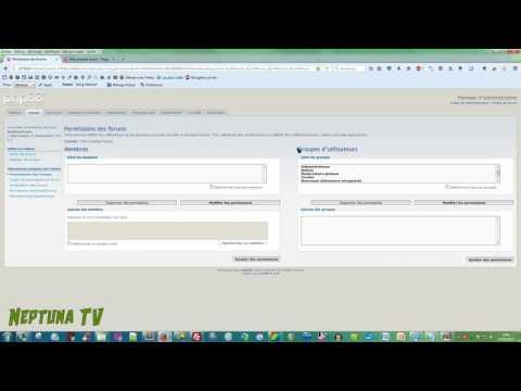 PHPBB 3.1.10 - Créer son premier forum, son premier lien et sa première catégorie • Tutoriel