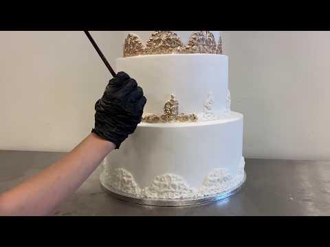 wedding-cake-|-5-tier-wedding-cake-|-cake-decorating