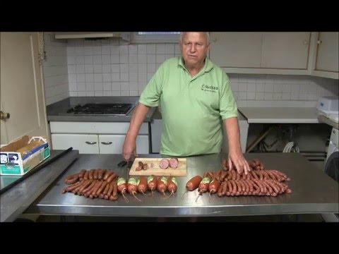 #14 Schinkenwurst (Ham Sausage) Demonstration (plus Summer Sausage