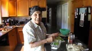 93 Year Old Still Making Cabbage Rolls - Video #38/90
