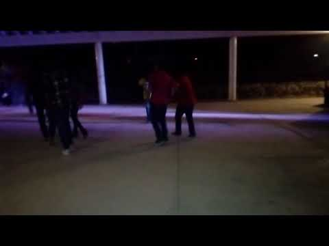 Los del Sauz bailando un zapateado ahhua (El Sauz, Peñamiller)
