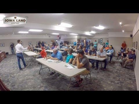 Clay County, Iowa 100 Acre Farmland Auction Highlight