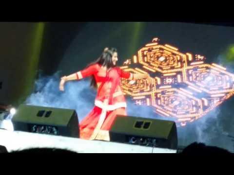 Monalisa 2nd performance Hindi bhojpuri Star Night doha qatar 12 Sep 2016
