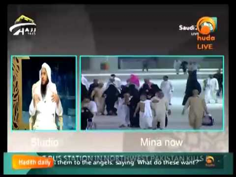 Hajj 1435 with Saudi Tv Oct 4th Part 2