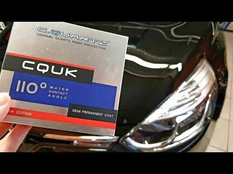 How to apply Cquartz UK from CarPro! (results & water test)
