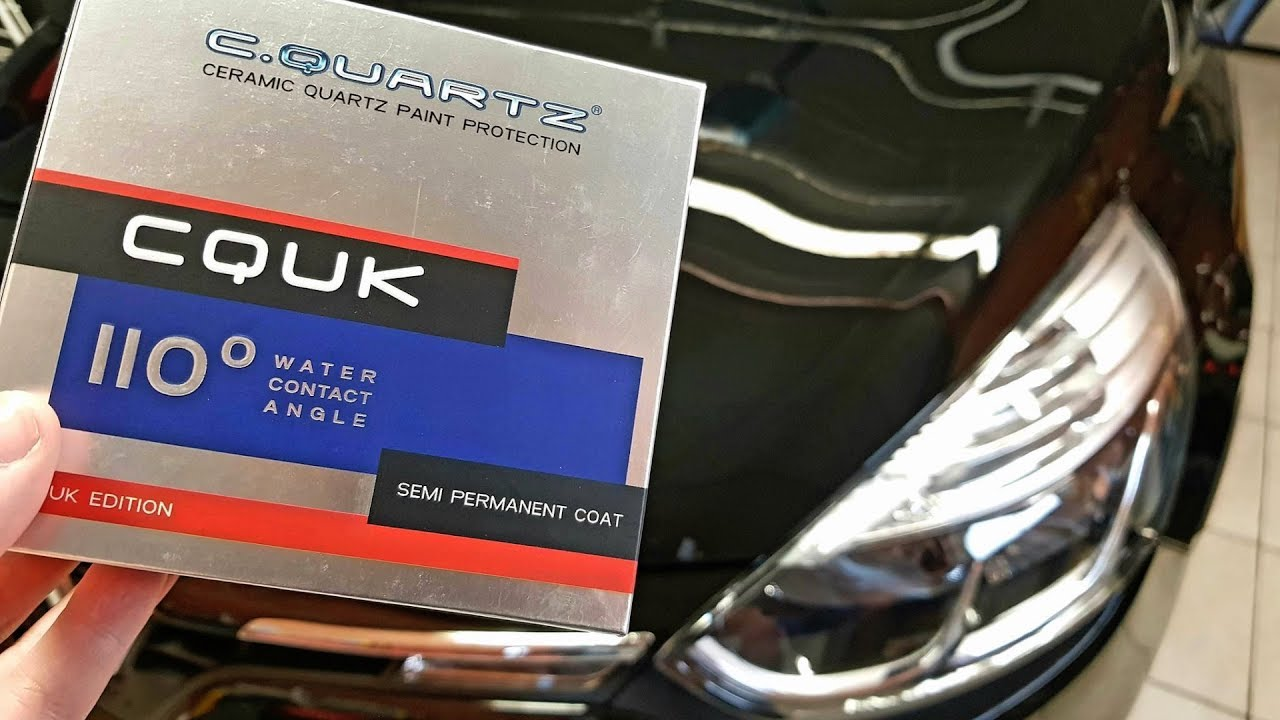 How To Apply Cquartz Uk From Carpro Results Water Test Youtube