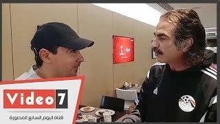 محمد بركات : مباراة مصر وروسيا صعبة