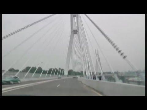 Congo, Inauguration de la route de Corniche à Brazzaville