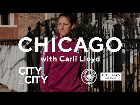 CITY2CITY | Chicago | Carli Lloyd meets a City superfan in the US