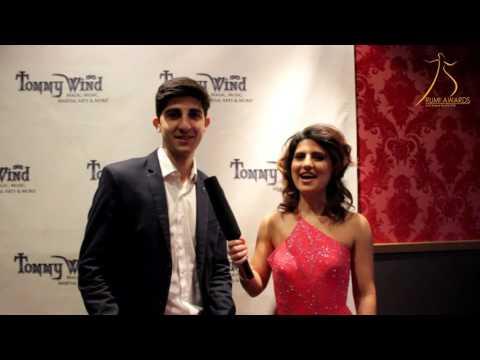Karina Weeks Interviewing Robin Goodman at RUMI Awards