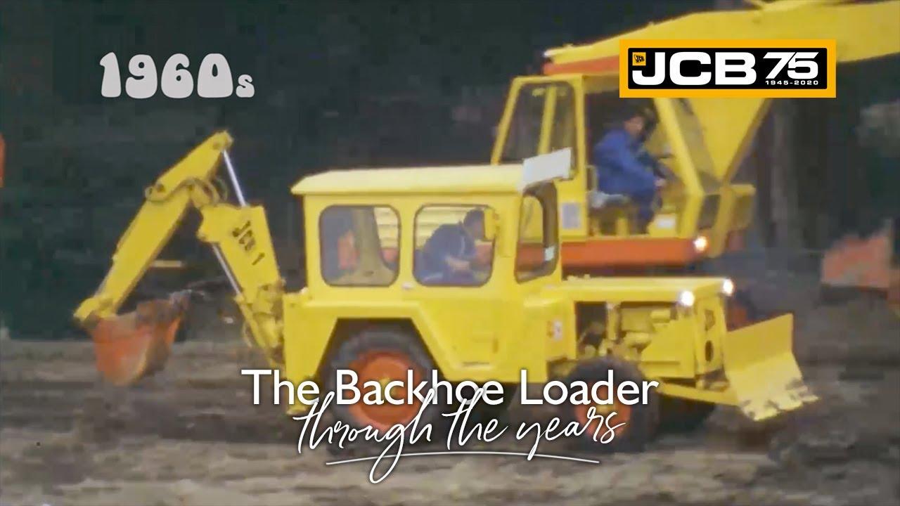 History of the JCB Backhoe Loader - 1960s