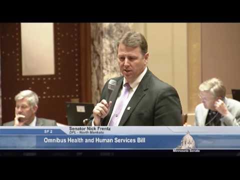 Senator Nick Frentz on the Importance of Funding St. Peter Security Hospital