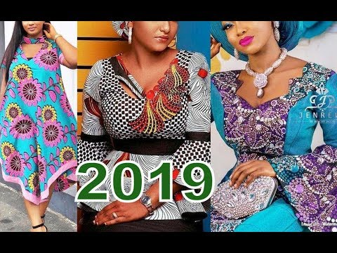 Ankara Fashion Styles Pictures 2019 and Aso Ebi Styles Collection
