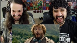 Honest Trailers - JUMANJI: WELCOME TO THE JUNGLE -  REACTION!!!
