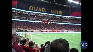 Atlanta United Fans revved up for goals!