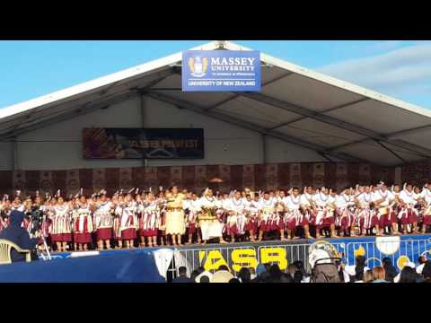 Tamaki College Polyfest 2016 (Tongan Stage)