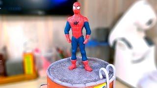 ''Человек - паук''. Фигурка из мастики / ''Spider - man''. The figure of mastic - Я - ТОРТодел!