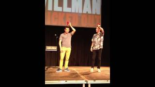 Justin Willman at Westmont College. Coke Trick. Nathan Beck