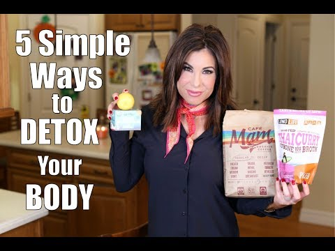 5 Simple Ways to DETOX Your BODY