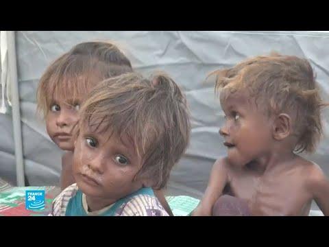 ظروف إنسانية مزرية وصور صادمة للنازحين من ويلات الحرب في اليمن  - نشر قبل 3 ساعة