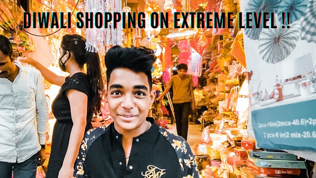 DIWALI SHOPPING FROM SURAT WITH DIDI !! I Vlog I Rohit Zinjurke  I Reactionboi