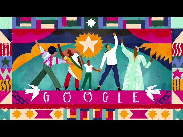 155th Anniversary of Juneteenth Google Doodle