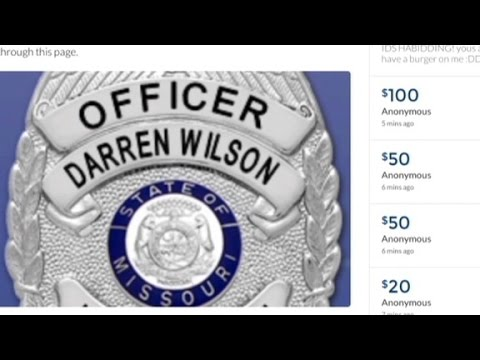 Officer Wilson's supporters speak out