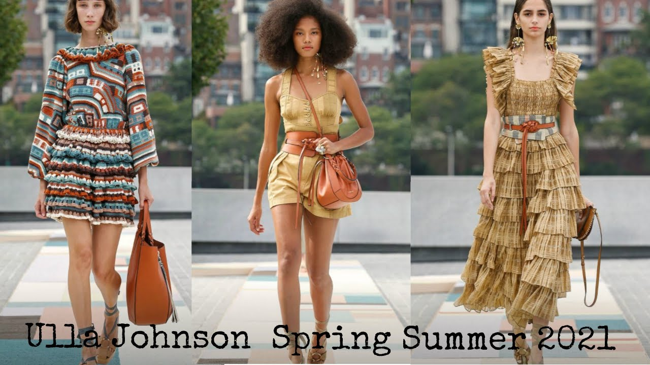 ULLA JOHNSON | SPRING SUMMER 2021 FASHION COLLECTION | NEW YORK FASHION WEEK | 乌拉·约翰逊 / Улла Джонсон
